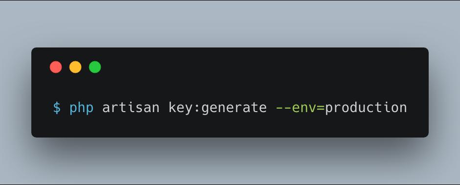 key-generate